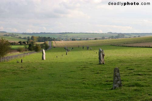 The Avenue: Megaliths in Avebury, Wiltshire