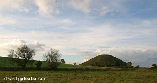 Silbury Hill: Megaliths in Avebury, Wiltshire