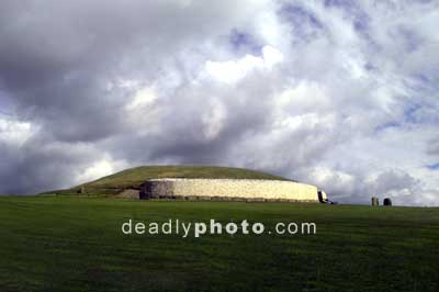 Newgrange, from the gate