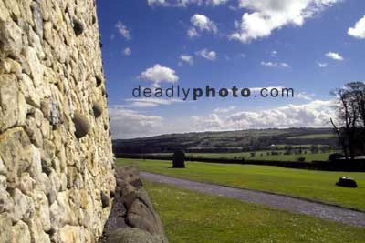 Newgrange, a view of the boyne valley