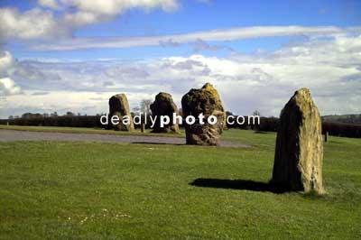Newgrange. the standing stones