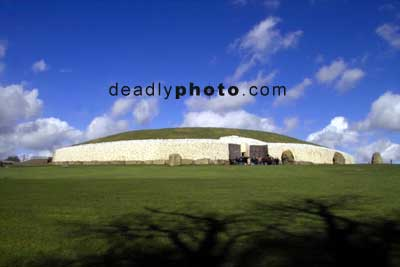 Newgrange, from near the front