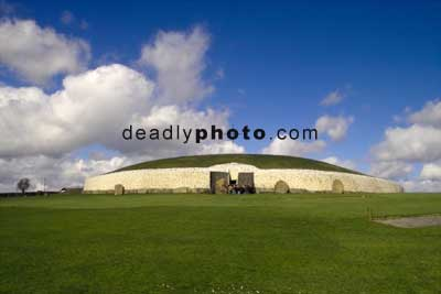 Newgrange. from the front