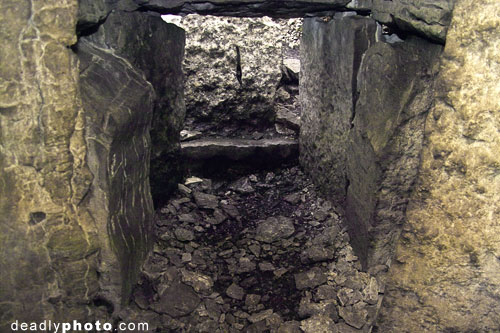 Interior of Cairn G, Carrowkeel