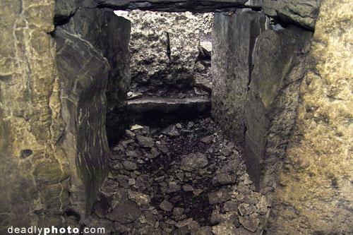 Interior of Cairn G, Carrowkeel