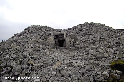 Exterior of Cairn H, Carrowkeel