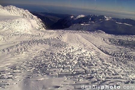 Fox Glacier, New Zealand. Copyright 2004 Dave Walsh