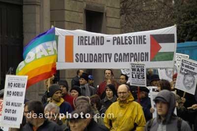 Ireland. Palestine.
