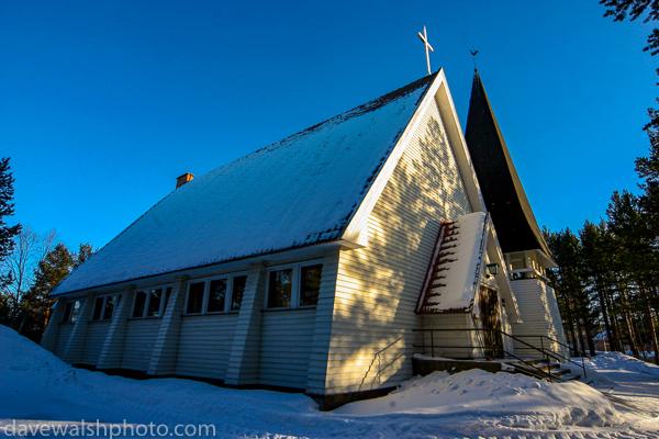 Inari Sàmi Church, Lapland - Inarin Inarin saamelaiskirkko