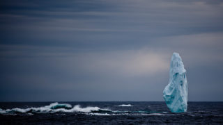 Arctic Iceberg pinnacle, Kangerlugussuaq Fjord, Greenland