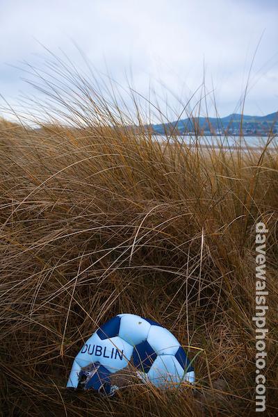Abandoned Gaelic Football on Bull Island