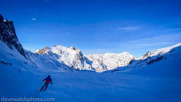 Skiing, La Mongie, Pyrenees, France