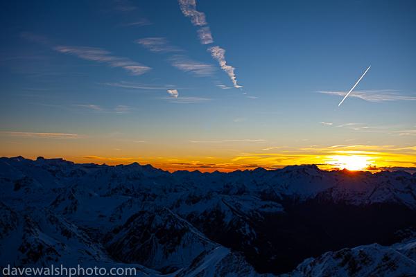 Sunset at Pic du Midi de Bigorre