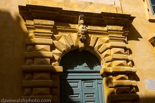 Door in Valletta, Malta