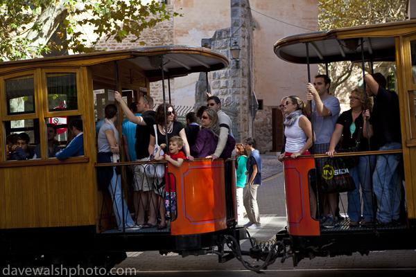 Tram in Soller, Mallorca