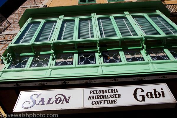 Hairdressing salon, Soller, Mallorca