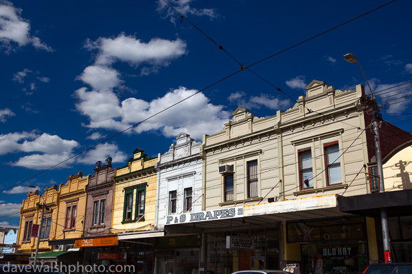 House and shops on High Street, Northcote