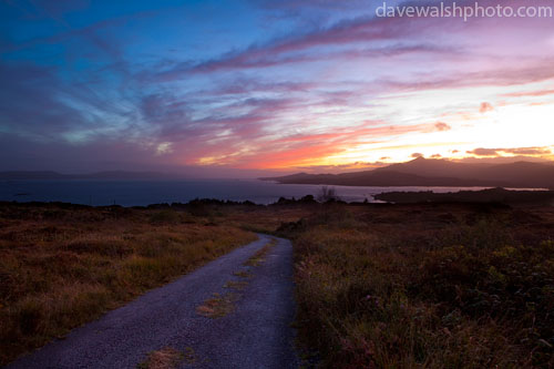 Sunset over Bantry Bay, West Cork, Ireland