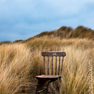 Abandoned Chair on Bull Island, &copy 2010 Dave Walsh