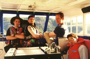 L-R: Dave Walsh, Magnus Backlund, Eric Joye, Peter Lakbar