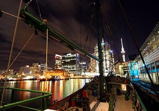 Rainbow Warrior, Auckland