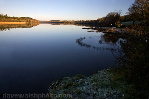 The River Slaney, Wexford, seen from Crossabeg, above, Killurn Bridge