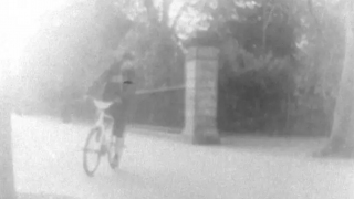 Young lad on bike