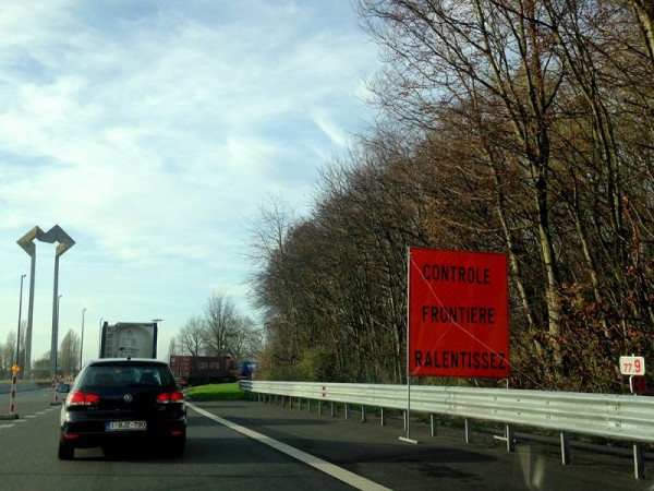 The Belgian-French Border (c) Dave Walsh 2015
