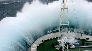 Greenpeace ship Esperanza in the Southern Ocean