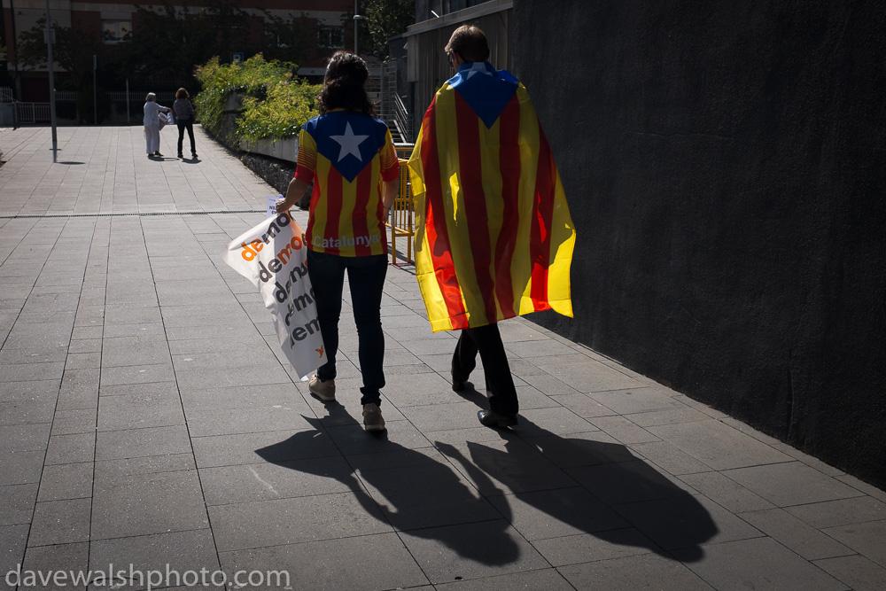 Catalonia Referendum Event, Sant Cugat del Valles